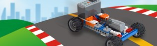 Brixology 004 Car Race Bricks A